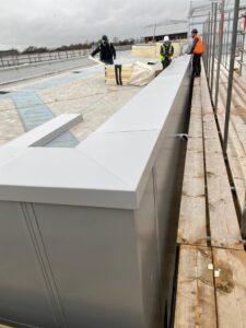 Secret fix coping site installation on MOD facility