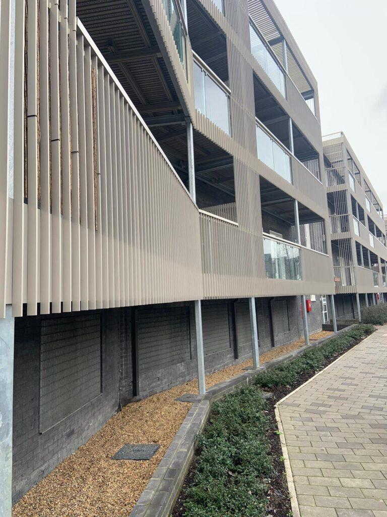 image of aluminium balustrades