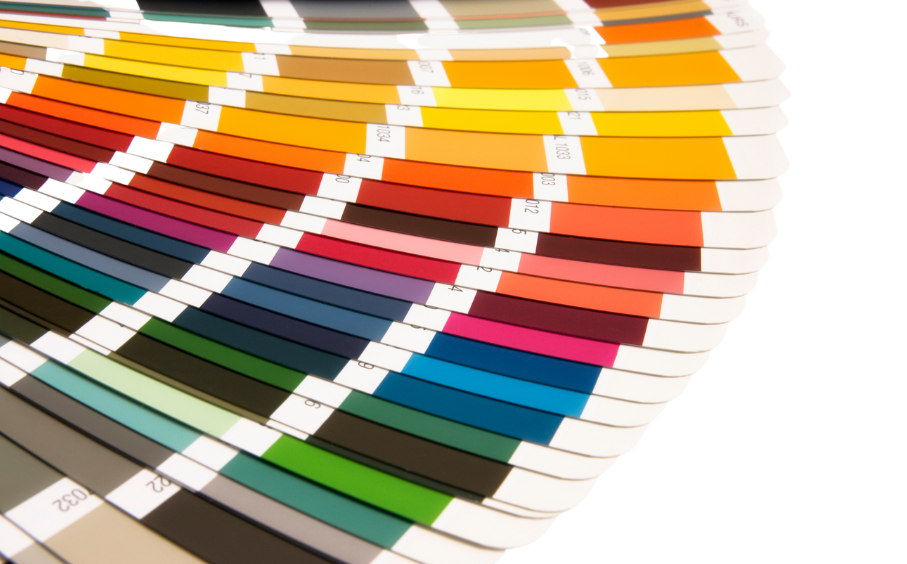 Image of RAL colour chart