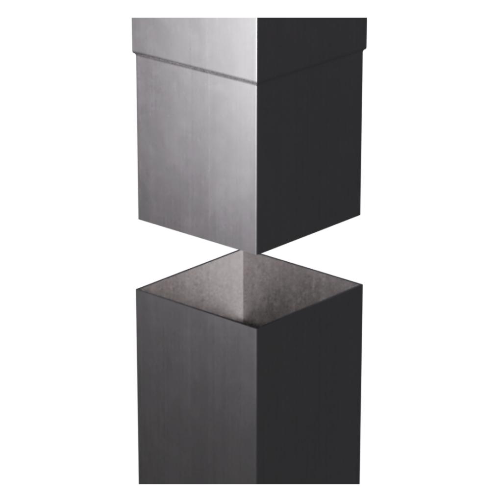 Aluminium-Square-Smoothline-Downpipe