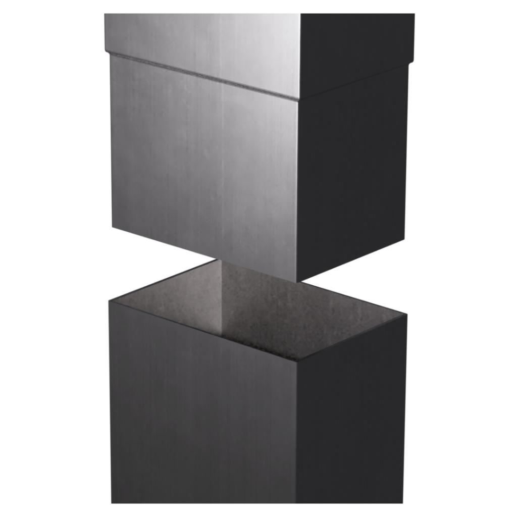 Aluminium-Rectangular-Smoothline-Downpipe