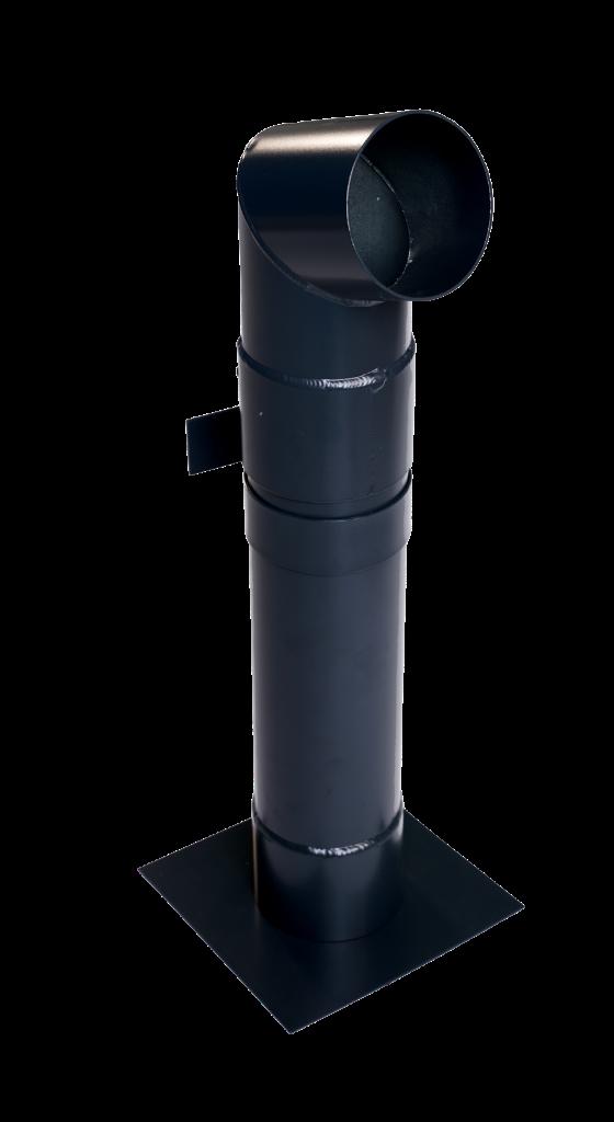 Aluminium-Downpipe-with-powder-coating-finish